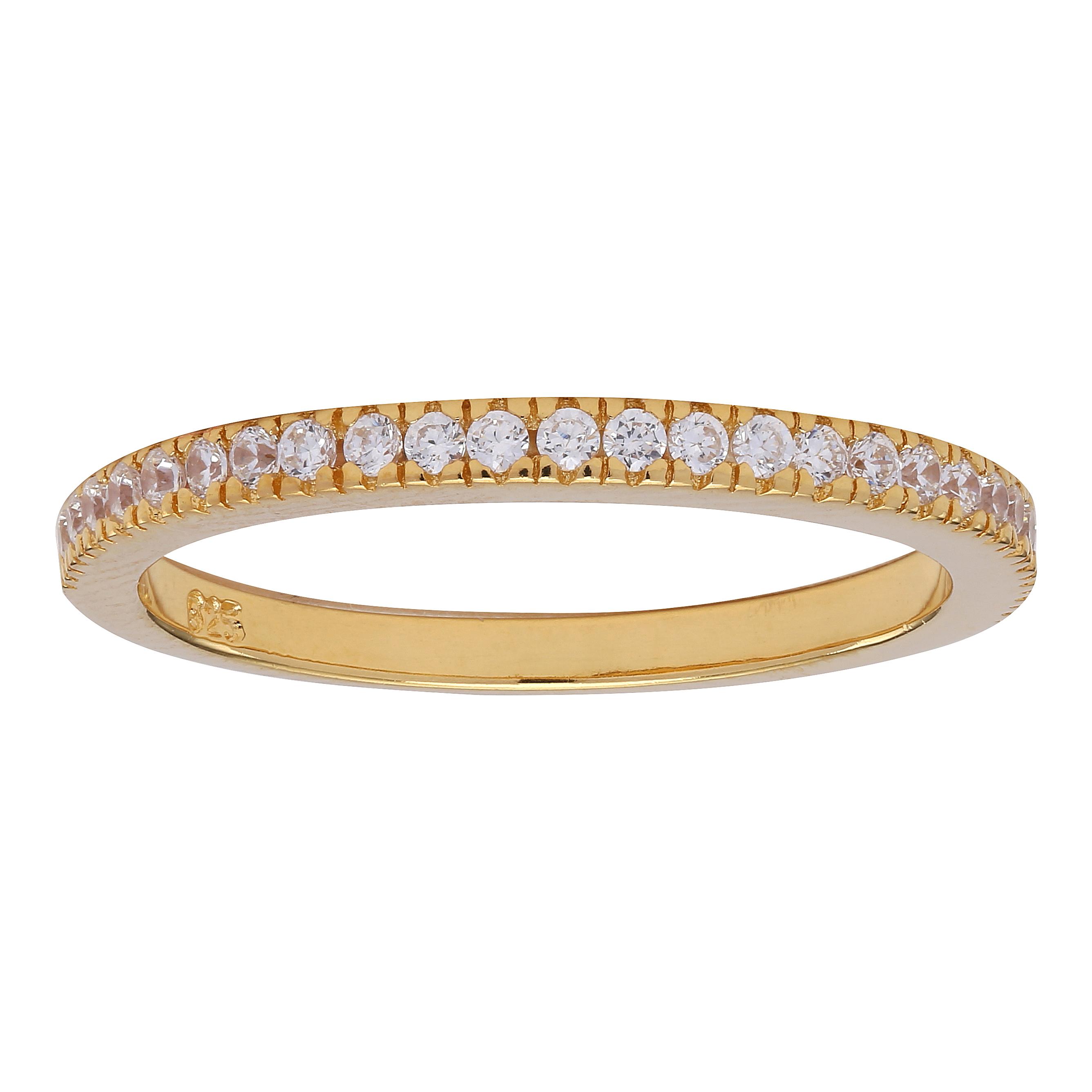 Top Joanli Nor Frost Gold Ring mit Steinen zum Kombinieren @SZ_44